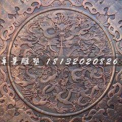 鍛造銅雕龍雕塑,銅龍浮雕