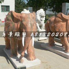 石雕大象,石頭大象雕塑