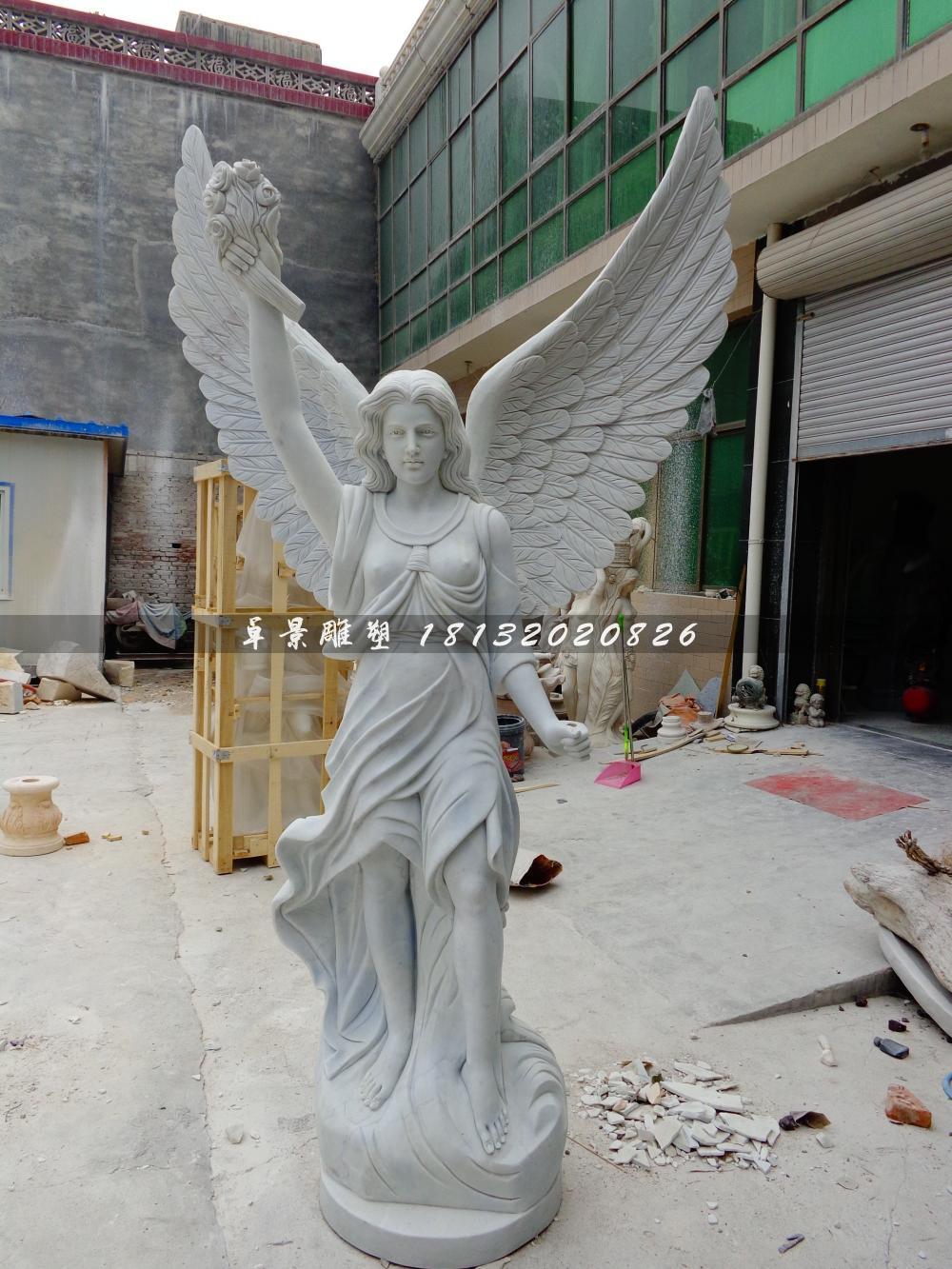 石頭女神雕塑,石雕女生雕塑