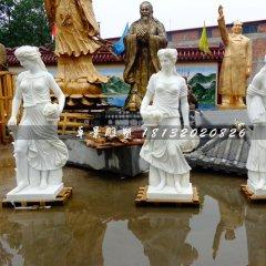 出口美國的歐式女神雕塑