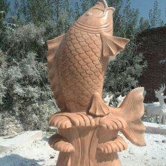 石頭鯉魚雕塑,石雕鯉魚,鯉魚雕塑