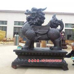 銅麒麟,銅雕麒麟,鑄銅麒麟雕塑