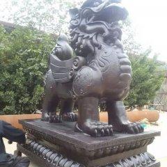 銅麒麟雕塑,企業門口麒麟銅雕