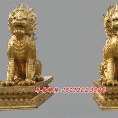 銅麒麟鑄銅麒麟雕塑