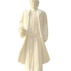漢白玉毛主席雕塑,石頭毛主席雕塑--河南鞏義