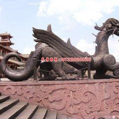 銅龍雕塑,廣場龍銅雕