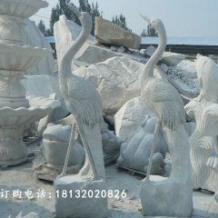 仙鶴石雕,仙鶴雕塑