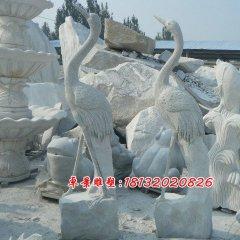 仙鶴石雕,大理石仙鶴雕塑