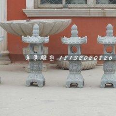石灯,青石石灯雕塑