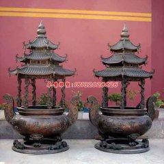 銅香爐,寺廟銅香爐