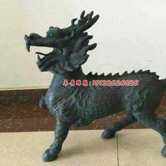 麒麟銅雕,青銅麒麟雕塑