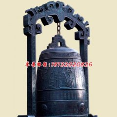 銅鐘雕塑,寺廟青銅鐘
