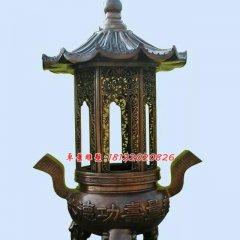 功德塔爐銅雕,寺廟香爐銅雕