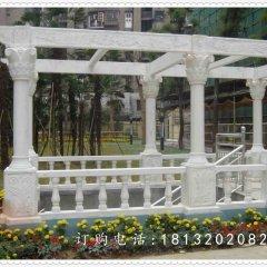 石雕走廊,公园景观雕塑