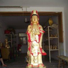 觀音菩薩銅雕,立式觀音菩薩銅雕,彩繪觀音菩薩銅雕
