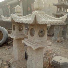 大理石灯雕塑,公园宫灯石雕