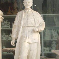 白求恩石雕,大理石醫院名人雕塑