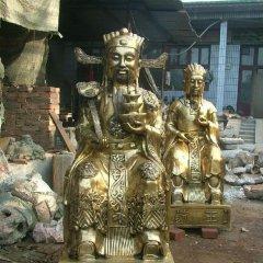 財神銅雕,文財神銅雕