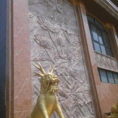 銅麒麟雕塑,鎏金銅麒麟雕塑