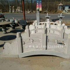 青石小桥雕塑,河边石雕桥