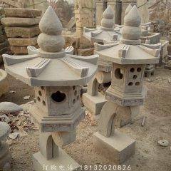 石灯,公园景观石雕