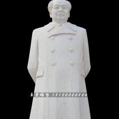 漢白玉毛主席像,廣場偉人石雕