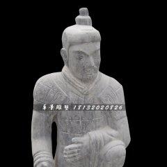 兵馬俑石雕,仿古兵馬俑雕塑