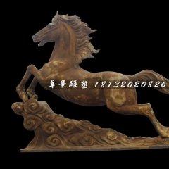 銅雕馬,廣場馬踏祥云銅雕