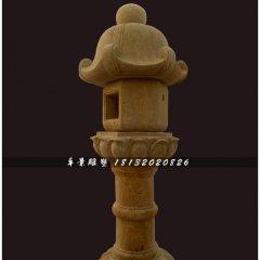 石灯,公园石灯雕塑,仿古灯