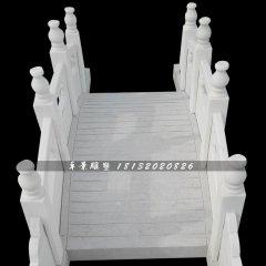 小桥石雕,公园汉白玉拱桥雕塑