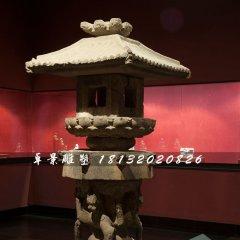 石灯雕塑,古代宫灯石雕