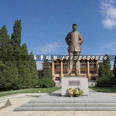 毛主席站像铜雕,广场伟人铜雕
