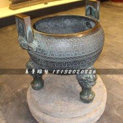 三足香爐銅雕,寺廟銅香爐