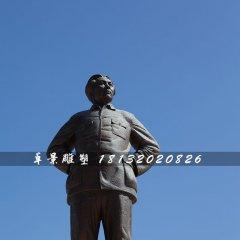 毛主席站像铜雕,广场伟人雕塑