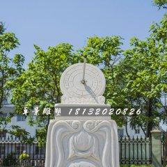 日晷石雕,校园汉白玉日晷雕塑