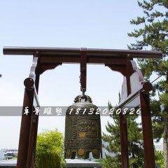 銅鐘,黃銅鐘,廣場銅鐘雕塑
