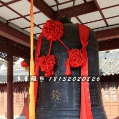 鐘雕塑,廣場銅鐘雕塑