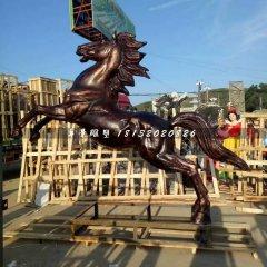 立馬銅雕,廣場動物銅雕