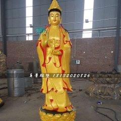 立式觀音菩薩,銅觀音雕塑
