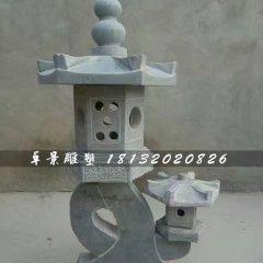 小型石灯,园林景观石雕
