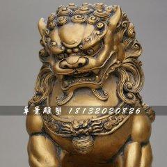 北京銅獅子,鑄銅獅子