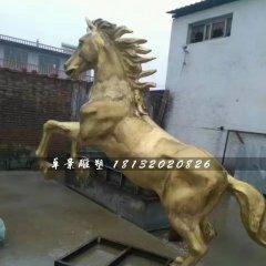 立馬銅雕,廣場銅馬雕塑
