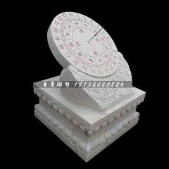 大理石日晷,广场日晷雕塑