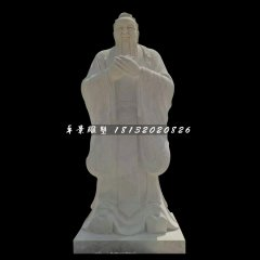 廣場名人石雕,校園孔子雕塑