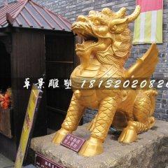 麒麟銅雕,神獸銅雕