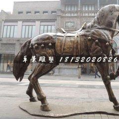 坐騎雕塑,廣場銅馬雕塑