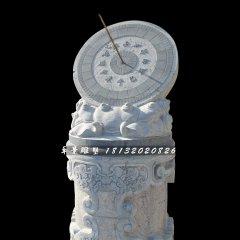 石雕日晷,青石日晷