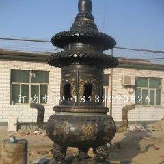 銅雕香爐鑄銅香爐雕塑