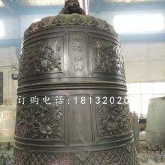 國泰民安銅鐘寺廟銅雕鐘