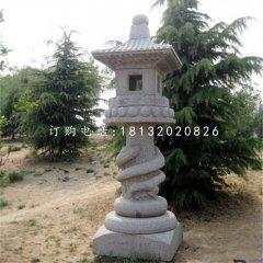 古代宫灯石雕石灯雕塑